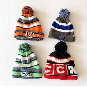 *Bundle of Four* Sports Team's Winter Hats